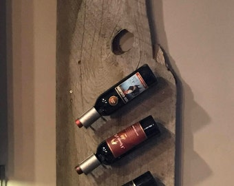 Made to order Barn Wood Wine Rack