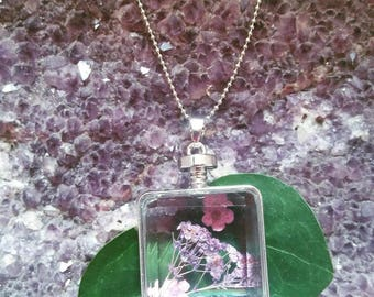 Miniature Perfume bottle Necklace