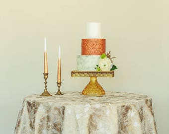 Gold  Sequin Tablecloth | Gold Table Linen | Modern Wedding Table Decor | Wedding Decor | Matte Gold Tablecloth | Gold Wedding Decor | Gold