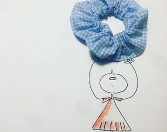 Model: Jackie. Handmade hair band, 100 % cotton.