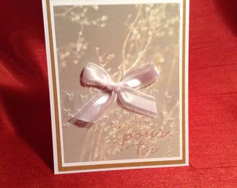 Beautiful card for a loved one