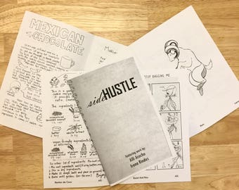 1st issue - sideHUSTLE zine: 9 to 5