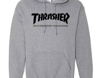 Thrasher Hoodie / Thrasher Skateboard Hooded Sweater