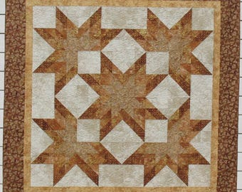 Copper and Cream Star