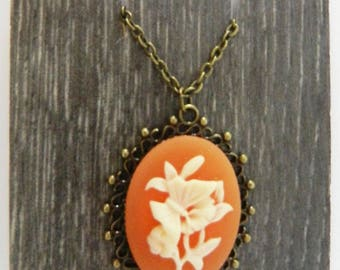 Victorian Flowers Necklace