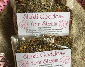 YONI STEAM Herbal Blend Bajos Vaginal Steam Bath Blend 1 oz one ounce womb wellness