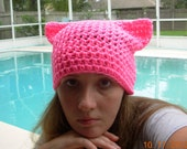 Purrfect Kitty Ear Hat-In Pretty N Pink-Pussy Hat