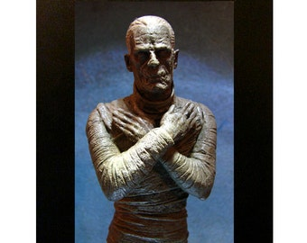 "Mummy Toy Photograph 4x6"" Universal Monsters"