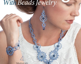 "Pattern book ""Tatting With Beads Jewelry"""