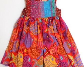 Size 3 Colorful Girls Dress