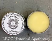 Historically Inspired: A Fine Honey Lip Salve- Lip Balm Historical Label
