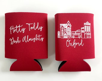 Oxford, Mississippi Ole Miss Insulated Can Holder