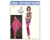 AS IS! Emilio Pucci Sewing Pattern / Vogue Couturier Design 1394 / Batwing Sleeve Jacket / Size 12 Bust