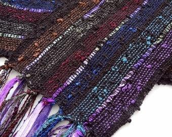 renaissance colors lightweight handwoven scarf