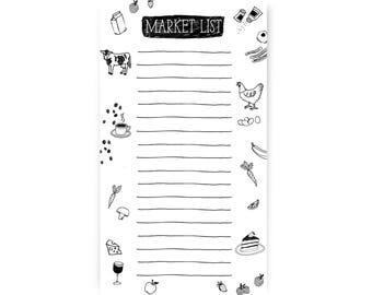 Market List Notepad