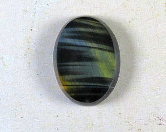 Blue Tiger Eye Cabochon - 18x25x5 mm