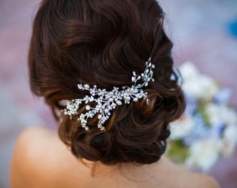 Pearl Hair Comb, Bridal Hair Accessory, Wedding Headpiece, Pearl Comb, Wedding Hair Comb