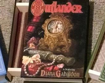 Outlander Book Box - Book Jewelry Box - Wooden Outlander Jewelry Box - Outlander Jewelry Box - Dracula Jewelry Box - Diana Gabaldon Book Box