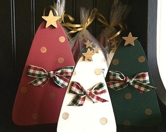 Christmas trees, set of 3