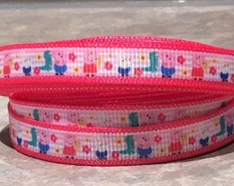 Peppa pig 3/8 inch ribbon