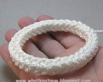 square rope bracelet thick rope bracelet sennet braid rope grommet bracelet fisherman weave bracelet 3364