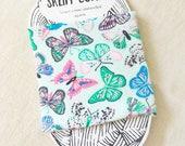 Butterfly Yarn Cozie- Yarn Keeper- Yarn Organizer- Yarn Storage- Yarn Bowl- Crochet Accessories- Spring Knitting- Yarn Holder- Skein Coats