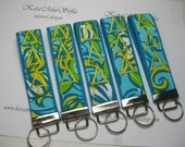 Tri Delta /Lilly Pulitzer Monogrammed Key Fob Wristlet Big Little Gift / Stocking Stuffer /Sorority Gift / Preppy / Choose One