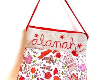 personalized girls purse