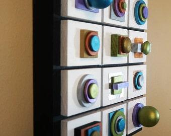 FREEship,Sculptural,Metallic,Panels,Minimalist,Contemporary,Wood,Installation,Wall Art