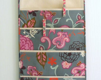 Wall or Door Hanging Organizer in a Four Pocket Design