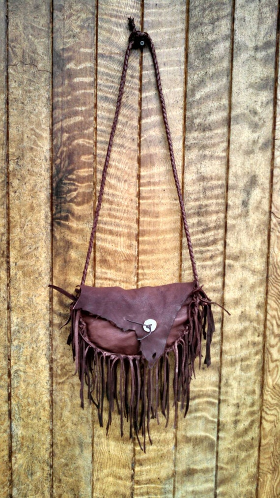 Buckskin Hip Bag or Purse