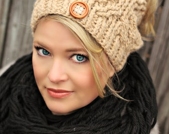 Hugs and Diamonds Hat Crochet Pattern