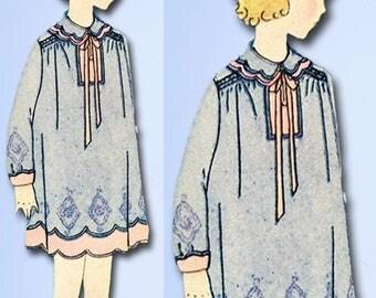 1920s VTG Butterick Sewing Pattern 1503 Uncut Little Girls Bloomer Dress Size 7