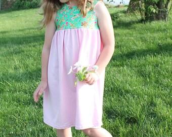 Wild Flower -  Girls Dress, Toddler dres
