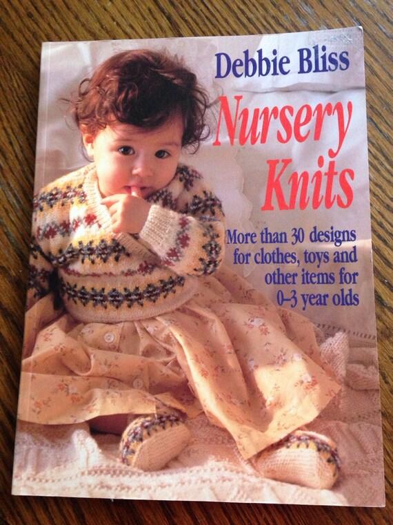Nursery Knits Knitting Pattern Book by Debbie Bliss 30 ...
