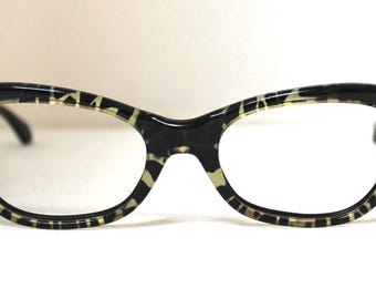 1950s  Pin Up Eyeglasses // 50s Vintage Frames // Pin Up // Holiday /Art Craft