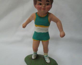 Boy Runner Figurine