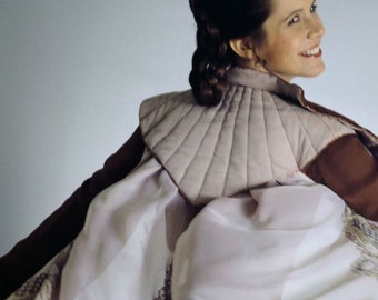 "Princess Leia Bespin Cloud City Cosplay Costume -Custom Made Tunic, Pants, Belt & ""Oh Baby That Cape!"""