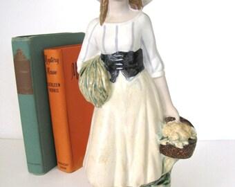 Porcelana Artistica Levantina PAL Porcelain Girl Figurine Spain from AllieEtCie