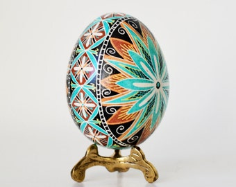 Mother in law gift idea hollow egg symbolizes chris blue pysanka trendy ukrainian easter egg fertility amulet wedding keepsake unique gift for him or her negle Image collections