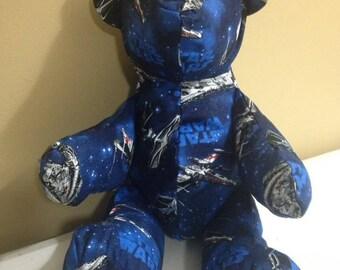 Star Wars Teddy Bear, Bear, Stuffed Animal, Stuffed Toy