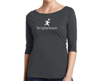 DM107L Letsplaymusic or Sound Beginnings Shirt