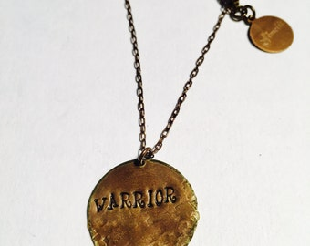Warrior Affirmation Necklace