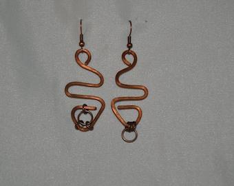 asymmetrical geometric earrings