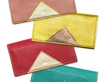 SALE Leather Wallet. Cellphone Wallet. Simple Wallet.