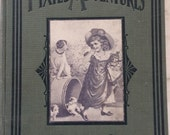 "Antique Book ""Pixie's Adventures"" The Story of a Dog 1903 Green Chicago Publishers - UBS"