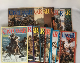 Lot of 19 Americas Civil War Magazine Back Issues 1992  1993  1994  1995  1998 United States History