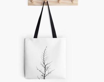 Forlorn Tree Art Tote Bag