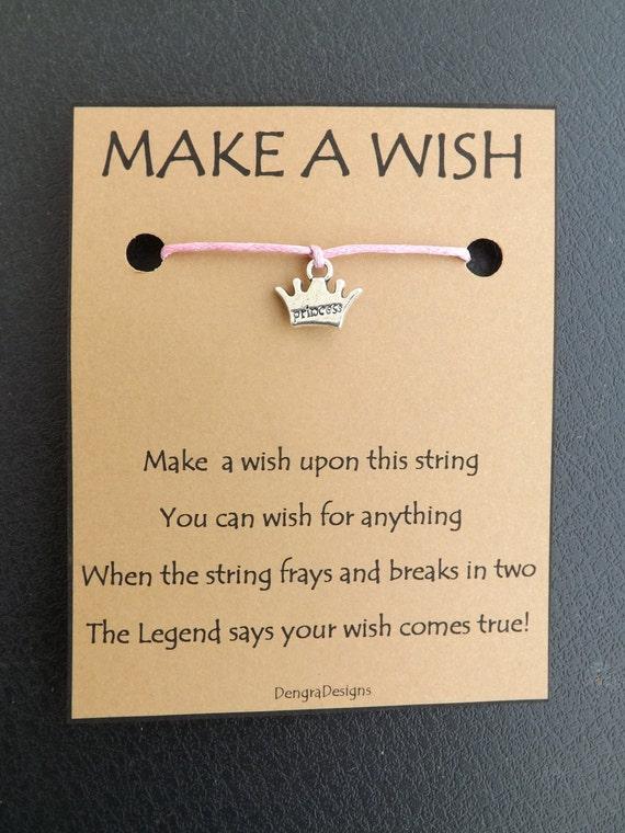 Princess Tiara Wish String