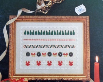 50%OFF | Linda Driskell | Drawn Thread | CHRISTMAS SAMPLER | Needlework | Pulled Embroidery Pattern | Booklet